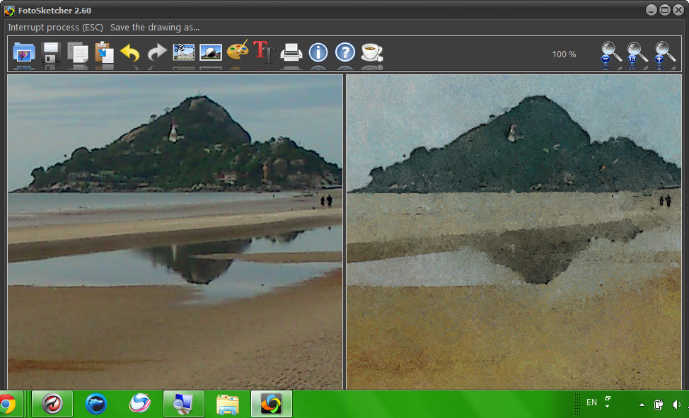 FotoSketcher Portable 2.60