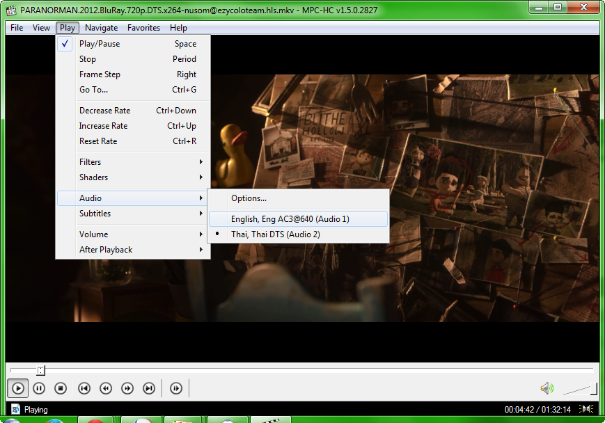Media Player Classic  Home Cinema 1.7