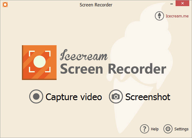 Icecream Screen Recorder 2.21