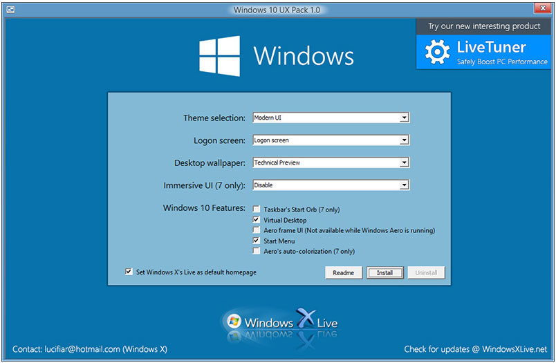 Windows 10 UX Pack 6.0